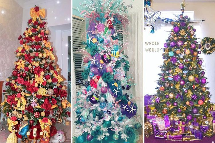 The Most Magical Disney-themed Christmas Trees, From The