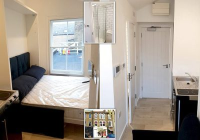 London Bedsit With Sofa Bed Kitchen And Shower On Sale For 200 000