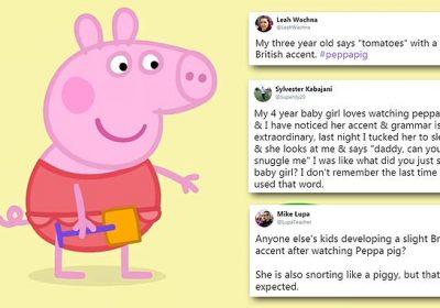 Parents Say Peppa Pig Is Making Children Develop British Accents