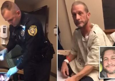 Missouri police officers search cancer sufferer's bag for