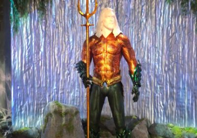 Watch Film Visits The New Aquaman Exhibit On The Warner Bros