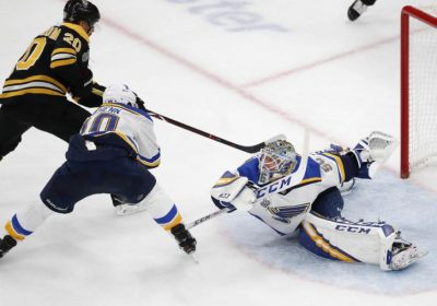 Ice Hockey St Louis Blues End Stanley Cup Drought Top Boston