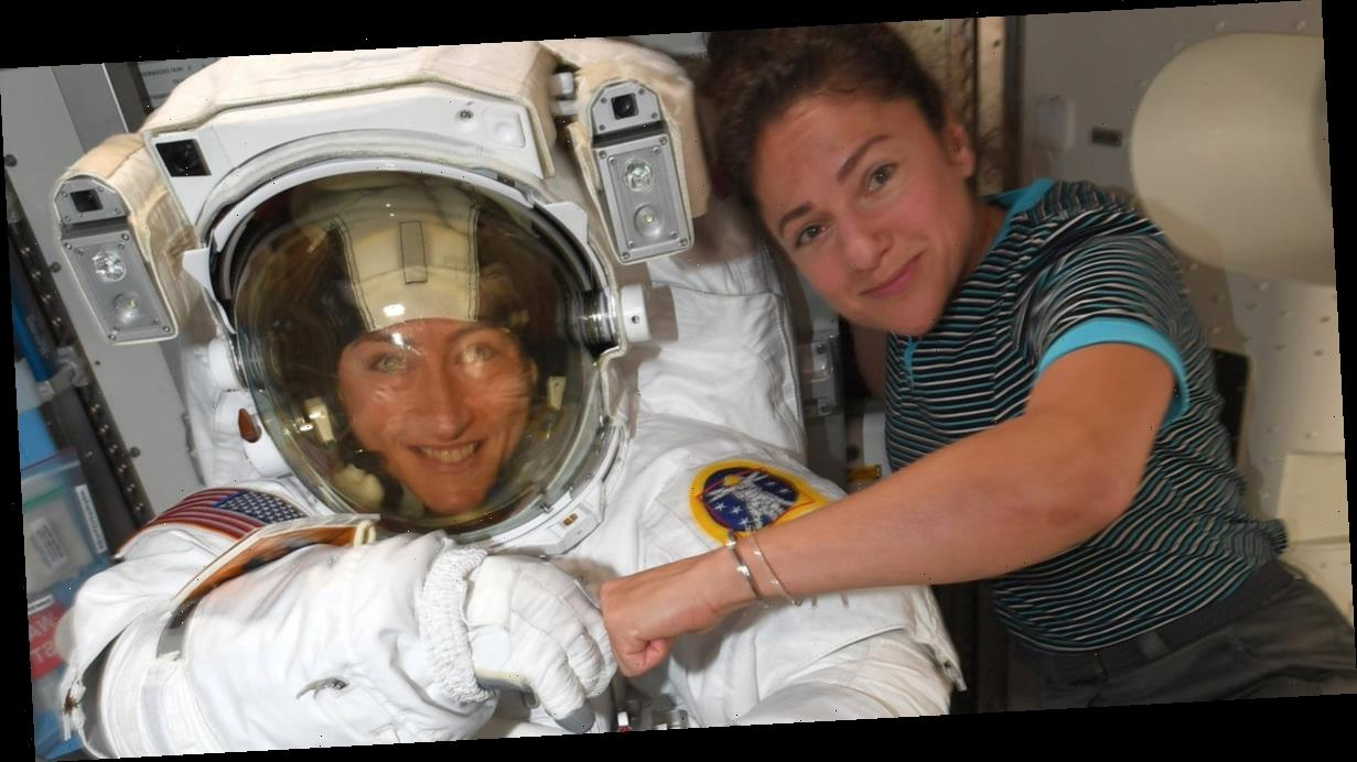 NASA Makes History With First All-Female Spacewalk | Go ...